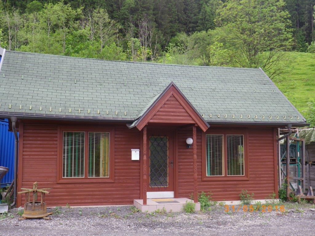Vermietung unserer Blockhütte